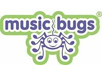 Music Bugs Sheffield- sensory, interactive and play-based music and singing classes-pre school& baby