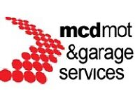 Vehicle lift, workspace & facilities for rent at garage & MOT station in Manchester