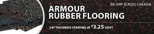ARMOUR RUBBER FLOORING - ON SALE!
