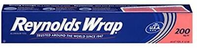 Reynolds Wrap Aluminum Foil 200 Square Foot Roll Free Shipping