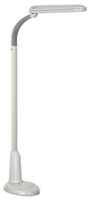 Ott-Lite L24554 Task Plus High-Definition 24-Watt Floor Lamp