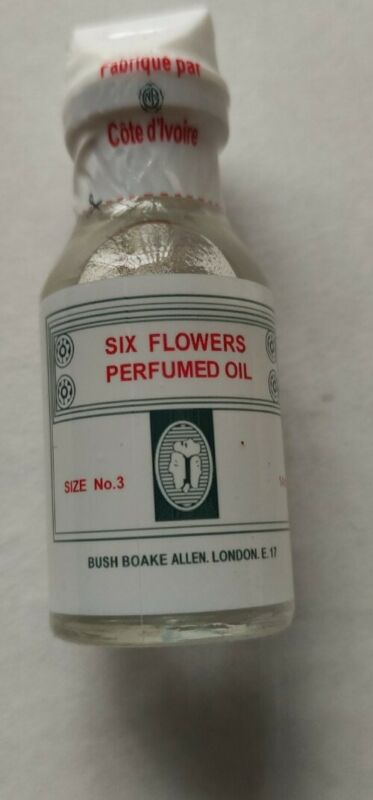 Original six Flowers perfume oil  for Spiritual use for Luck, Favor and Success