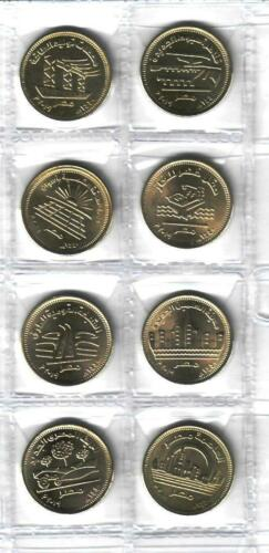 2019 Egypt Египет Ägypten Coins Uncirculated conditions,Set of 8 half pound