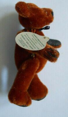 Boyds Bear TF Wuzzies TYLAR Miniature Jointed Plush Teddy Dollhouse Pet Animal - $10.00