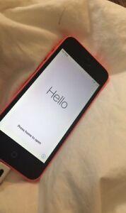 UNLOCKED iPhone 5c with LifeProof case