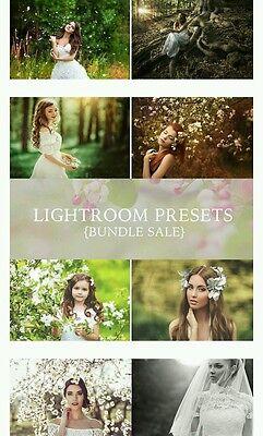 300 Adobe Photoshop Lightroom Presets Brushes Post Edit Images Pictures Bundle