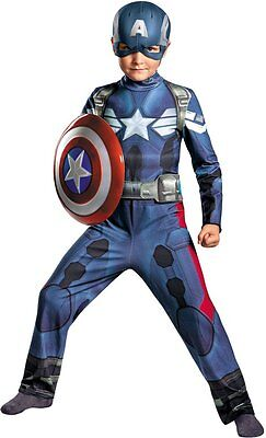 New Captain America Boys Winter Soldier Classic Costume 73362 Marvel Costumania ()