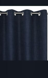 Creations Grommet Curtains, Harper, Navy (x4) / Brand new in pkg