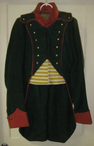 POLAND UNIFORM MILITARY COAT FADED - Duchy of Warsaw Napoleonic Polish Army SCA