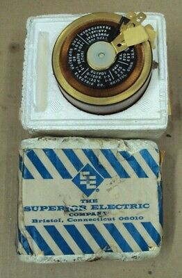 Superior Electric Powerstat Variable Transformers Type 10b Nos