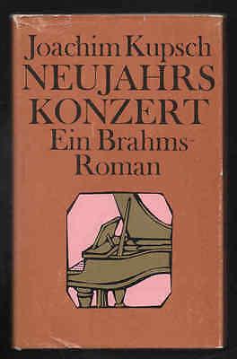 Neujahrskonzert – Joachim Kupsch  DDR Jugendbuch  Historischer Roman