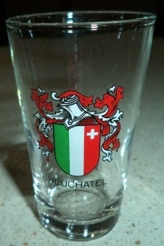 The Canton Of Neuchatel Switzerland Shot Glass