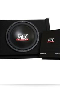 Mtx thunder sub and amp brand new