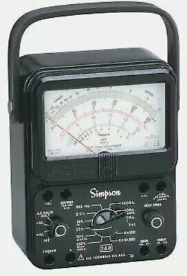 Simpson 260-8p Analog Multimeter With Relay Protection
