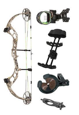 New Bear Archery Cruzer RTH Right Hand 70# Badlands Camo PKG