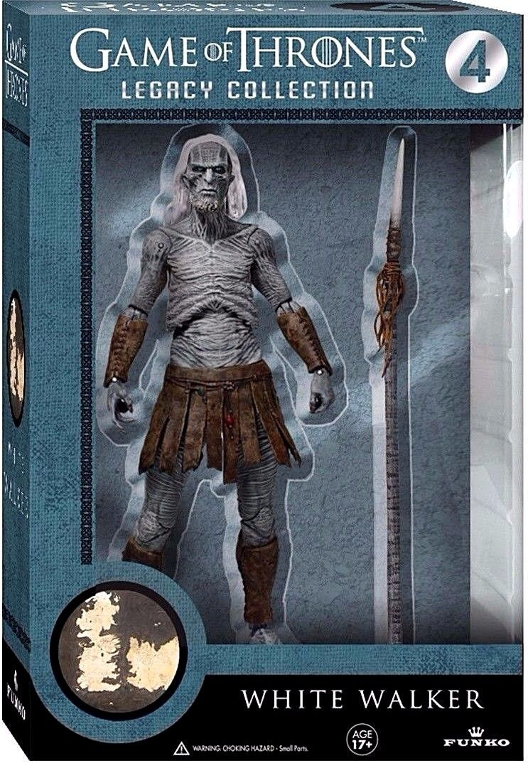 Action Figure Game Of Thrones COLLECTION White Walker + Drag