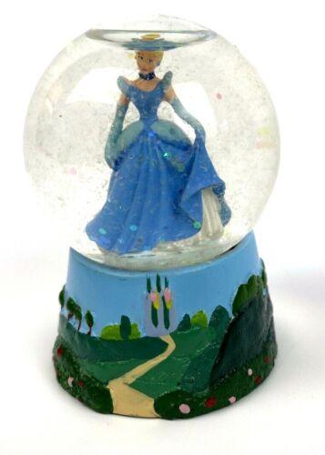 """DISNEY Kiu Hung Cinderella 2.5"""" 45mm  Mini Glitter Snow Globe Ball Gown"""