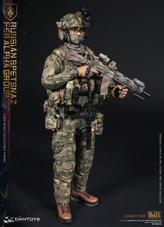 NEW DamToys 78047A Russian Spetsnaz FSB Alpha Group Luxury Version Soldier Story