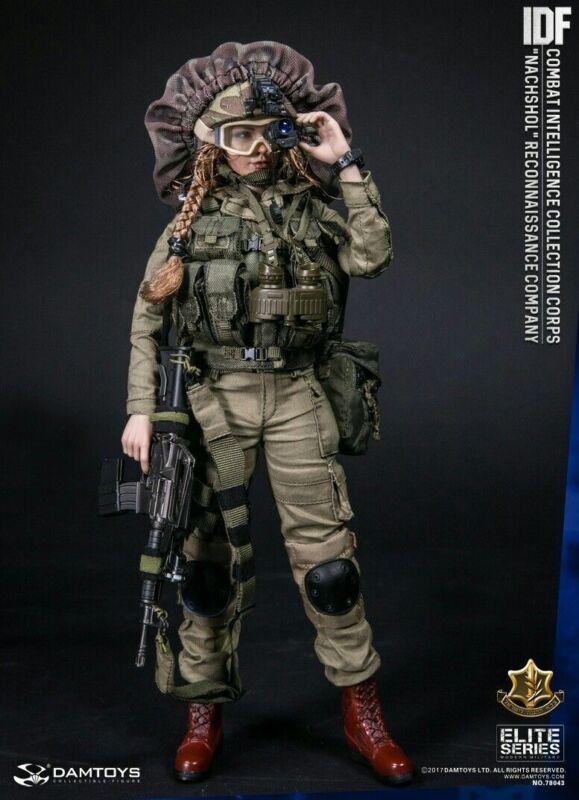 binocular 1//6 Dam Toys-Idf inteligência de combate Óculos