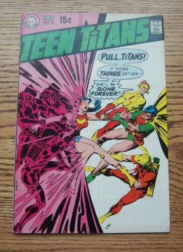 Teen Titans #22 Halfway to Holocaust!  Silver Age 1969 DC Comics FN+ ??