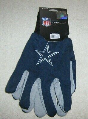DALLAS COWBOYS NFL TEAM UTILITY GLOVES ADULT 2 COLOR NEW for sale  Shipping to Canada