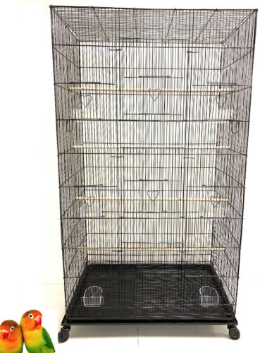 "55"" Large Flight Canaries Aviaries Parakeet Cockatiel LoveBirds Finch Bird Cage"