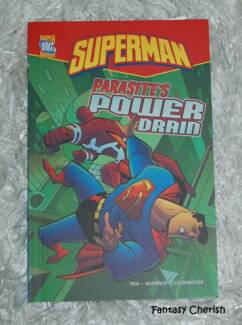 NEW Superman Parasites Power Drain - DC Super Heroes - Comic