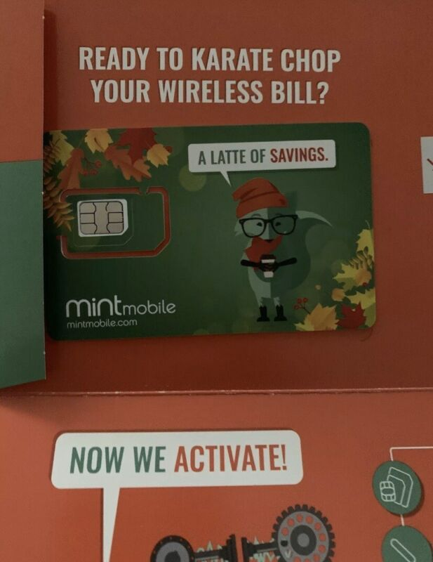 mint mobile 3-month 3gb prepaid sim card kit