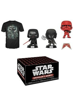 NEW Funko Pop STAR WARS SMUGGLER'S BOUNTY Forces of Darkness Box Size XL SEALED