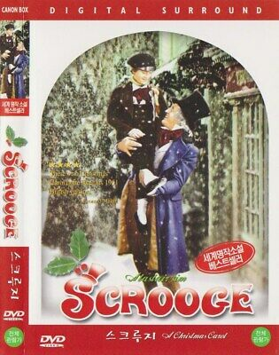 A Christmas Carol: Scrooge (1951) Alastair Sim DVD NEW *FAST SHIPPING*