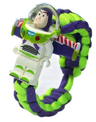 Toy Story Buzz Lightyear Figure Paracord Braided Bracelet](Buzz Lightyear Female)