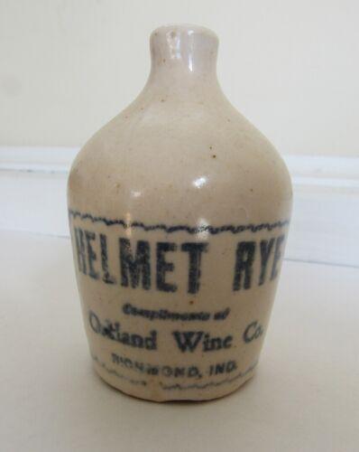 Stoneware Advertising Liquor Jug - Rare - C - 1900 Richmond, Ind
