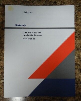 Tektronix Tas 475 Tas 485 Reference Guide
