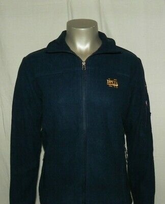 Fleece Notre Dame Irish Jacket - Notre Dame Fighting Irish Women's Columbia Full Zip Fleece Sweaters Jacket New