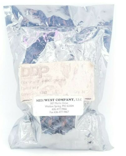 DDP, 6S6DCL130-CWW, White Pilot Light Bulb Replacement, 130VAC, Bag of 30 Bulbs