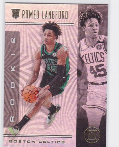 2019-20 PANINI ILLUSIONS BOSTON CELTICS ROMEO LANGFORD RC NO. 185