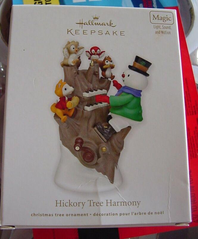 Hallmark Ornament 2011 Hickory Tree Harmony NIB Magic