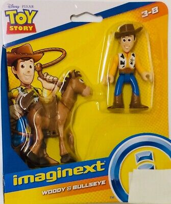 NIB Fisher-price Imaginext Toy Story 4 Woody and Bullseye Action Figure Toys