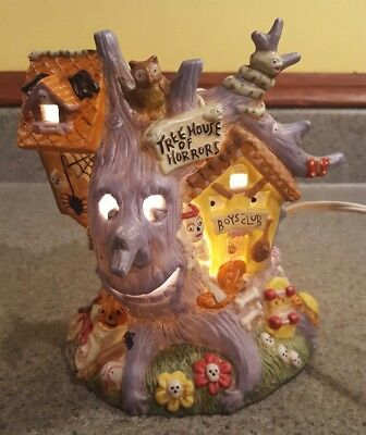 Creepy Hollow Haunted Treehouse Halloween Display - Midwest  (Hollow Halloween)