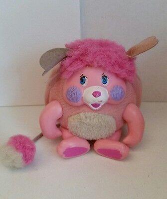 Popples Party Pocket Pink POPPLE Stuffed  Animal Plush Toy Mini Vintage