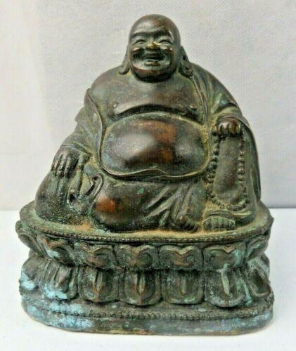 Rare Antique Buddha Bronze statue