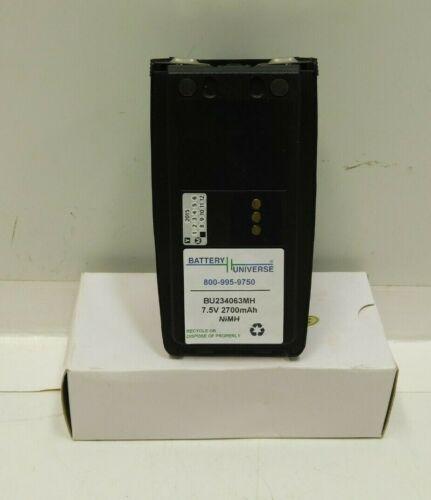 NEW 7.5V 2700 mAh M/a-com Harris Police Radio Battery BT-023406-003 Macom