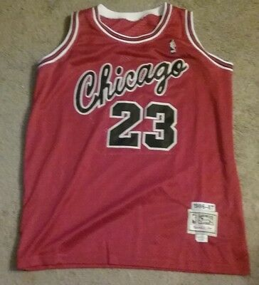 baebed5900f96e NWT M N Chicago Bulls Michael Jordan Jersey - All Stitched Mens Size 48