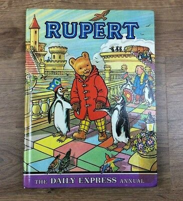 Vintage Rupert The Bear Daily Express Annual 1977