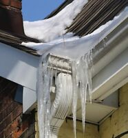 Winter Specials Eavestrough cleaning and repair services