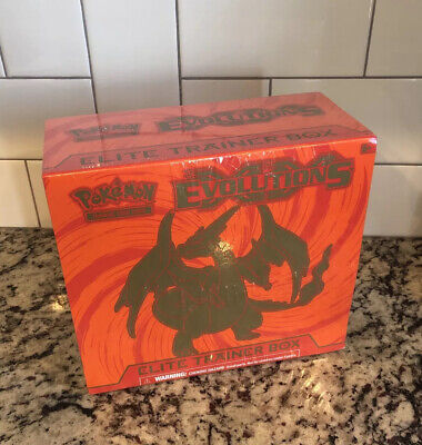 Pokemon Evolutions Elite Trainer Box New Sealed Unopened Charizard HOT!!!