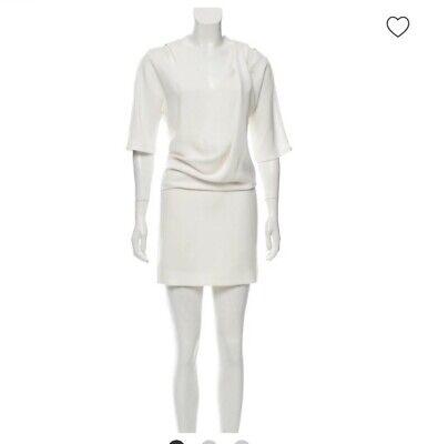 Vionnet-cutout accented  mini dress Accent Mini Dress
