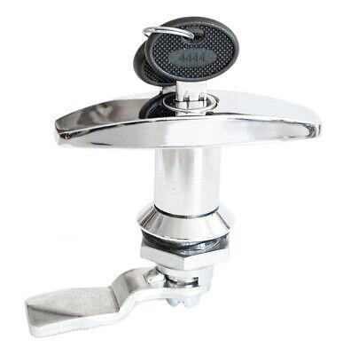 T Handle Latch Key Cam Lock Keyed Alike Locker Cupboard Cabinet 110.1.1.01.42