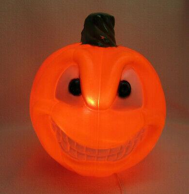 Empire JOL Blowmold Pumpkin Light Up Halloween Two Face Blow Mold