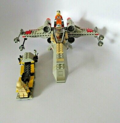 Lego Star Wars 7140 X-wing Fighter Complete w/ minifigs